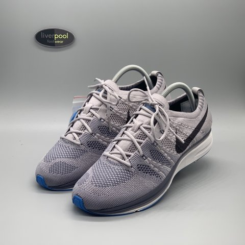 6d264764e21d9 Nike Flyknit Trainer - Atmosphere Grey Vast Grey Photo Grey - Depop
