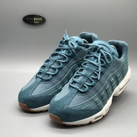 big sale 61d4a 490f3  liverpoolfootwear. 9 days ago. Liverpool, United Kingdom. Nike Air Max 95  - Turquoise ...