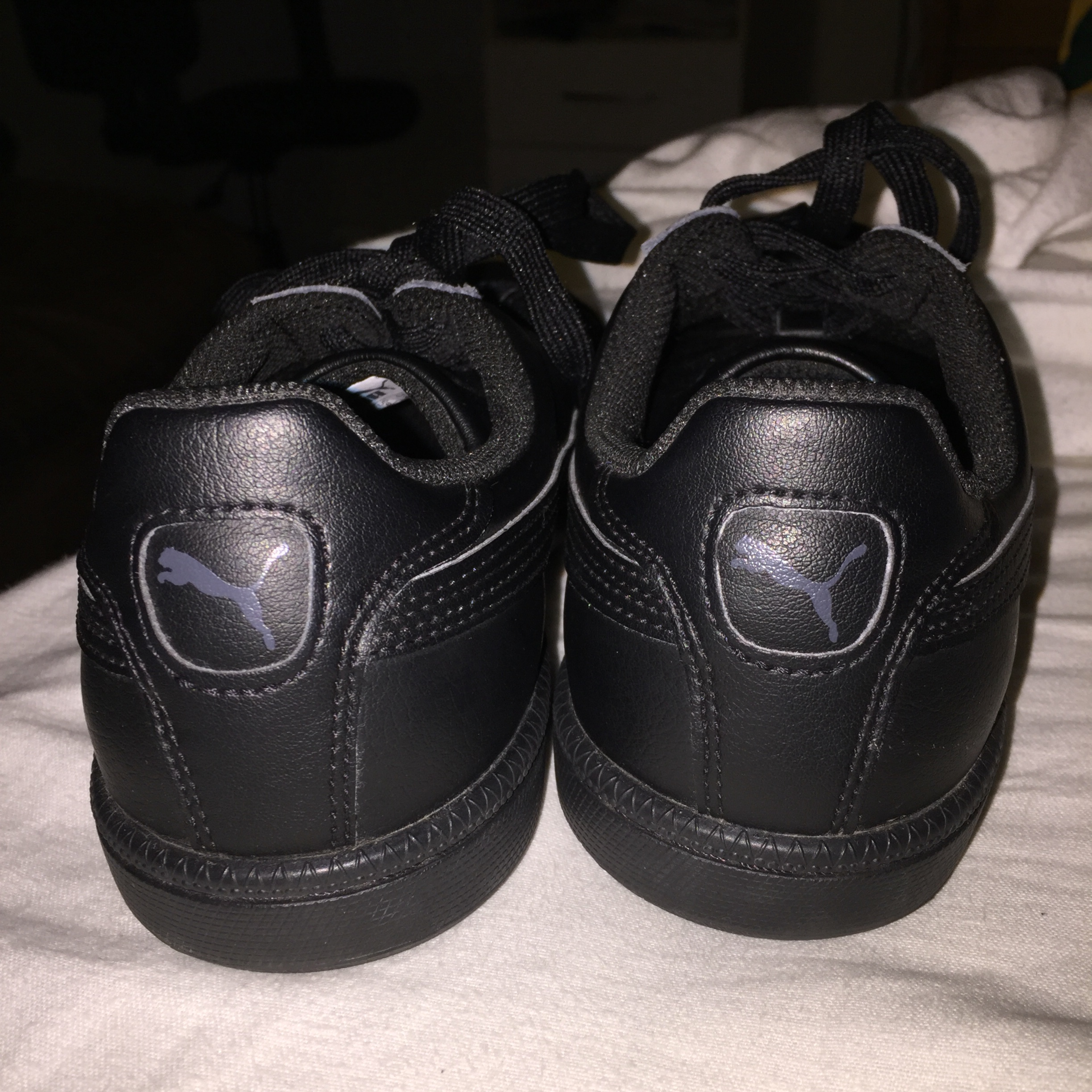 PUMA SMASH LEATHER SNEAKERS literally been worn Depop