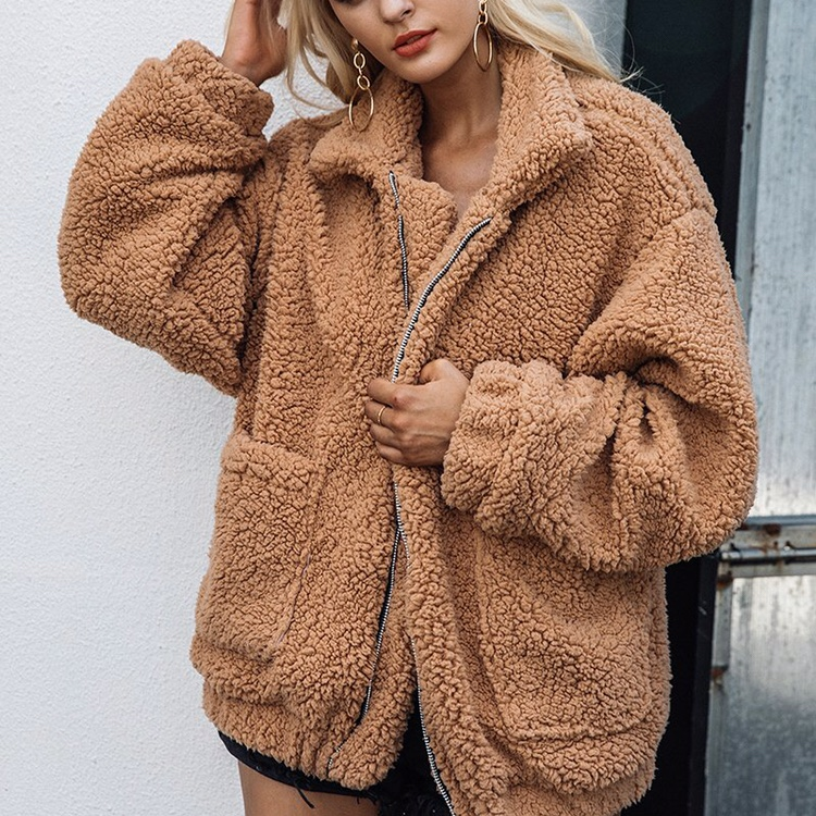 factory outlet limited sale many fashionable Brown teddy bear jacket. Really trendy right now.... - Depop