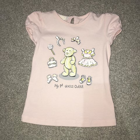 b97d17a0 @stace12. last year. Glasgow, UK. ||SOLD|| Baby girls Gucci tshirt 9-12  month