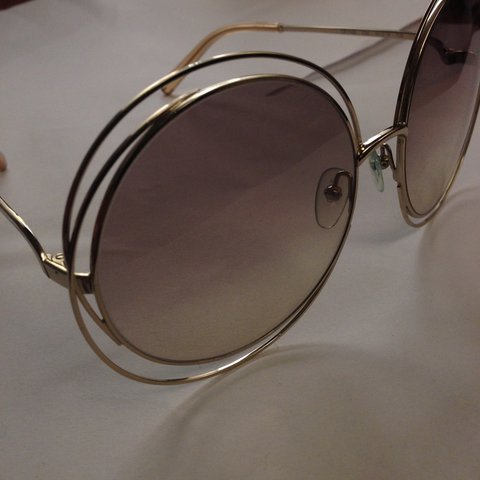 9ac06b60b4bb5 Chloe  Carlina  Sunglasses. Only worn a handful of times and - Depop