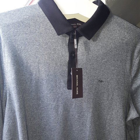 13b71293 @arshadb6. last year. Birmingham, UK. Brand new Mk long sleeve polo woth  tags Size M but will fit ...