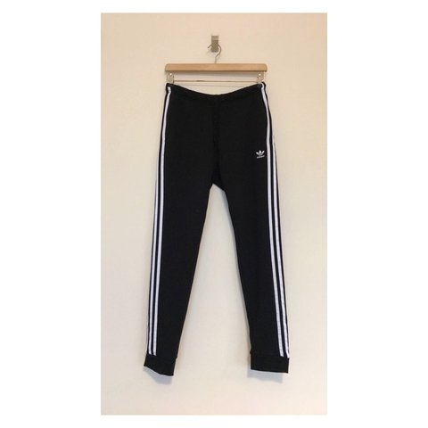 reputable site e17bc 831fc Adidas Joggers • Black • Size 12  adidas  womens  womenswear - Depop
