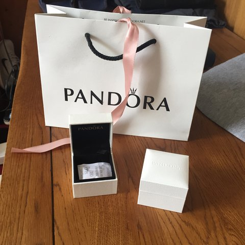 fe2ddb4330 Pandora gift bag and 2 small charm boxes!!! £10 job lot!! - - Depop