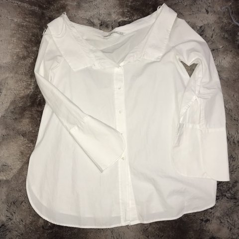 5a1458b6 @lnkn. 16 days ago. Mississauga, Canada. Trendy Button up off the shoulder  ...