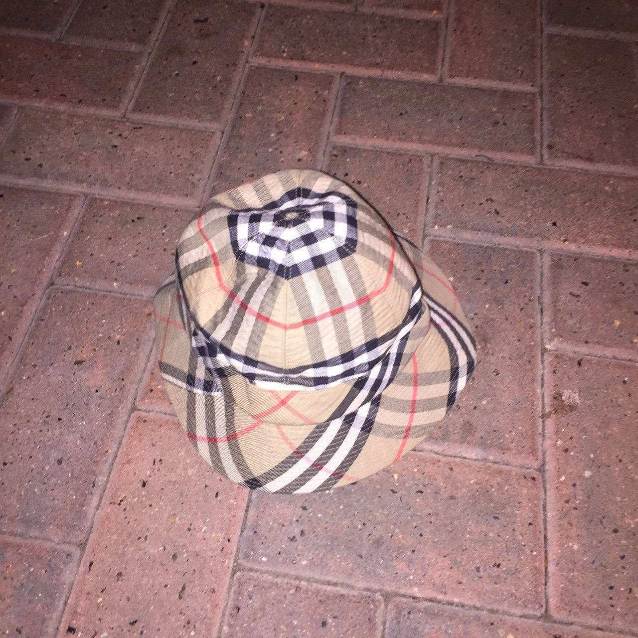 49fa170a316 Vintage Burberry bucket hat. Perfect for summer. States size - Depop
