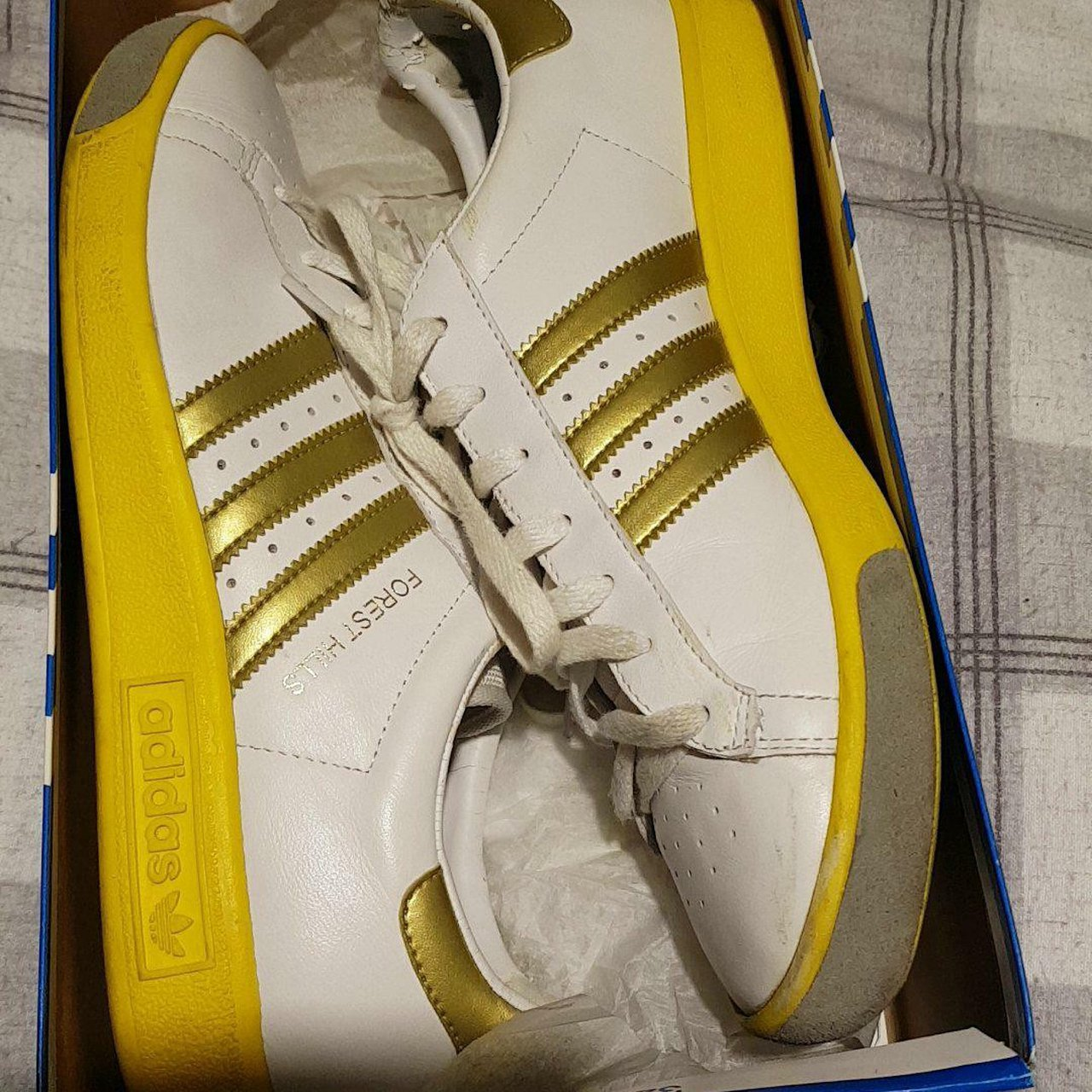 435335fb02d Deadstock Adidas original forrest hills. These are not the a - Depop