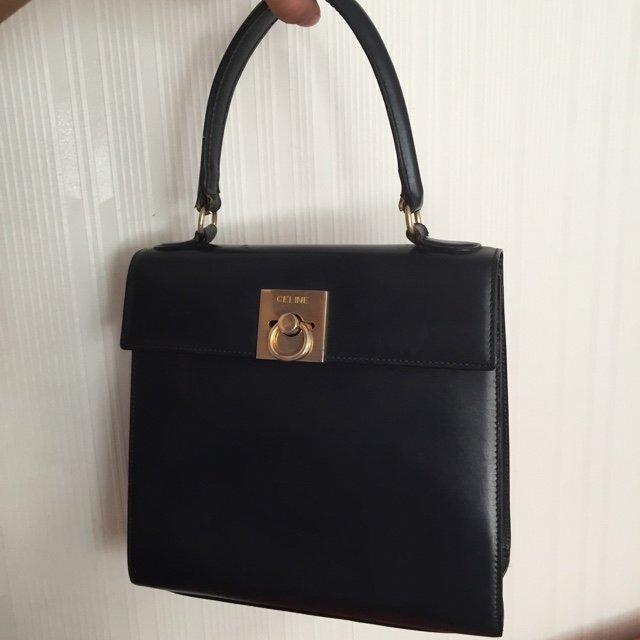 a330ad60cb14 Selling my authentic Celine Leather Vintage Kelly Bag. Very - Depop