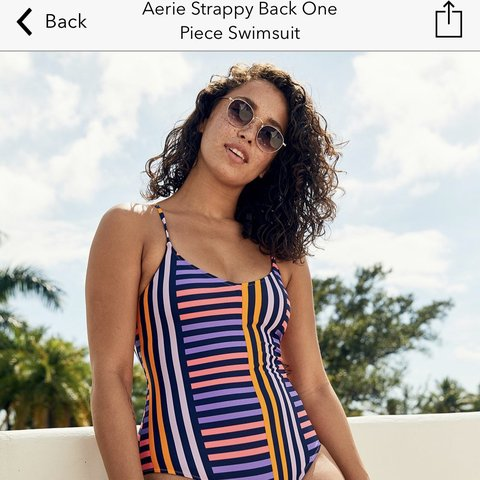 15c8668b99 Aerie swimsuit. LARGE LONG. Im 5'10 and it fits perfectly! I - Depop