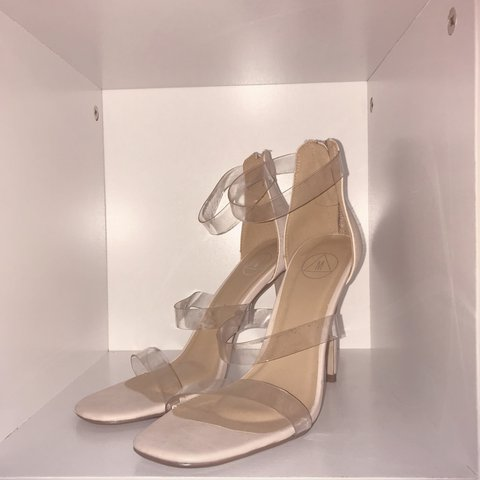 b5c1ef44c43  lydiakate x. 8 months ago. United Kingdom. Missguided nude  barely there   heels. Never worn out. Brand new ...