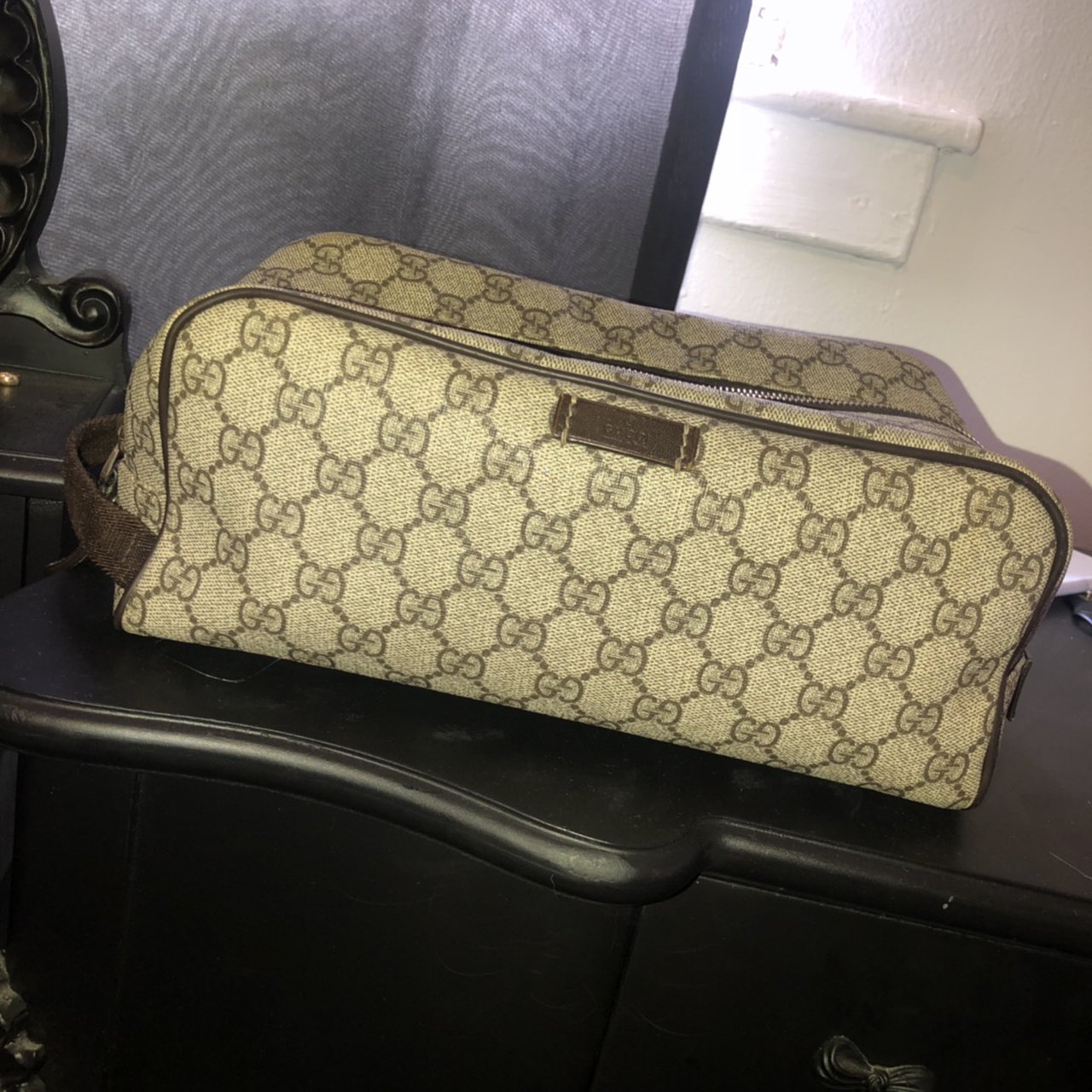 Gucci Toilet Make Up Bag Few Years Old But Well Depop