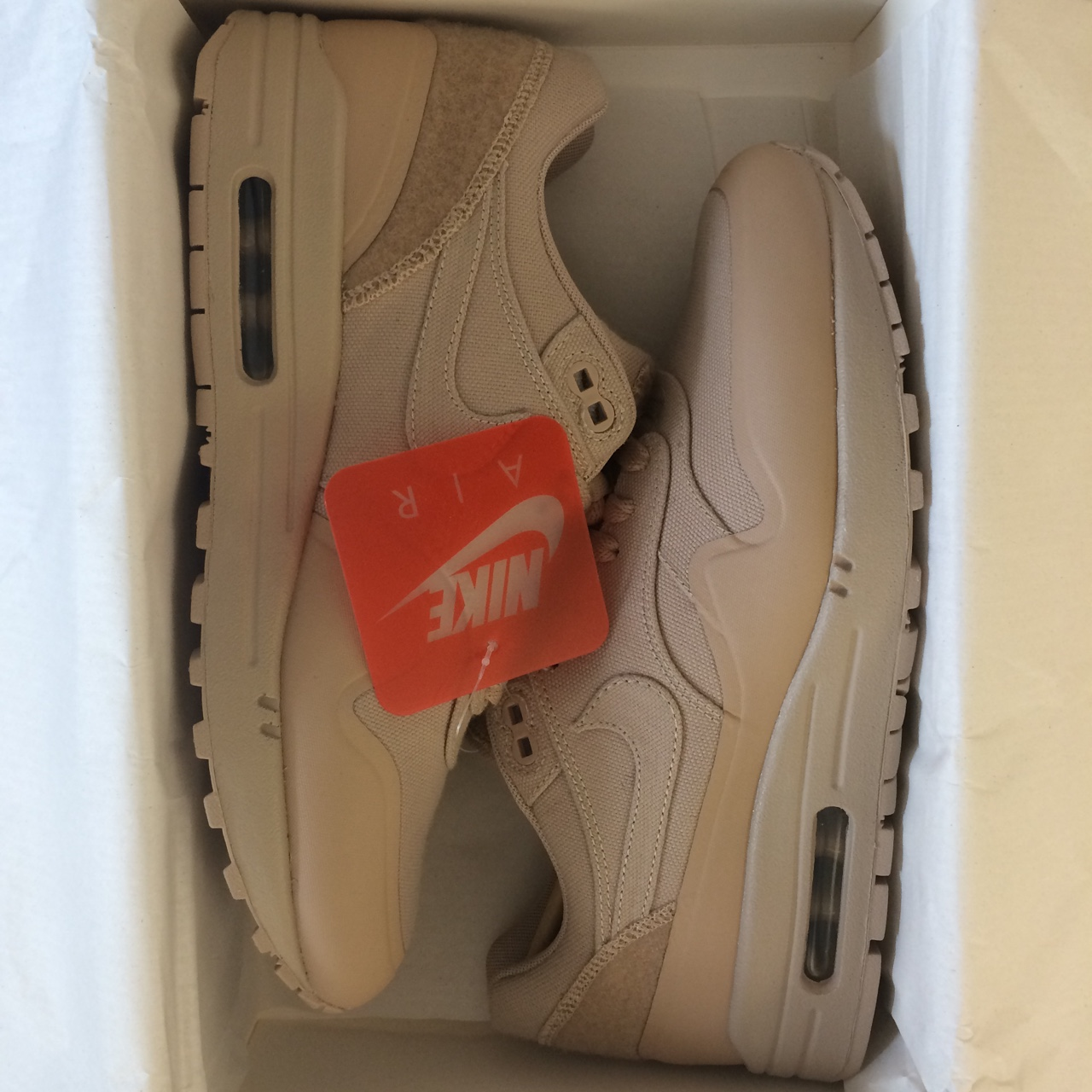 NIKE AIR MAX 1 V SP. TIER ZERO PATCH PACK. #sand
