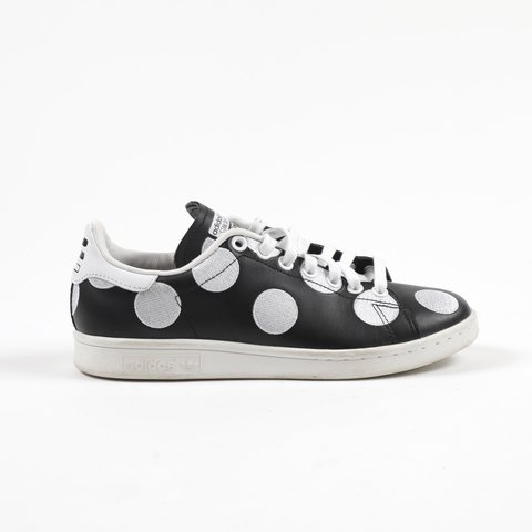 3eacb5f686f5b Adidas Originals x Pharrell Williams black and white polka - Depop
