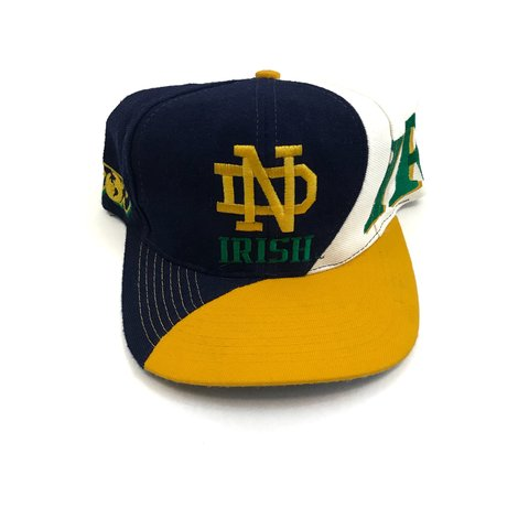 ff7b76ea938ab Vintage Notre Dame Snapback by Top of the World
