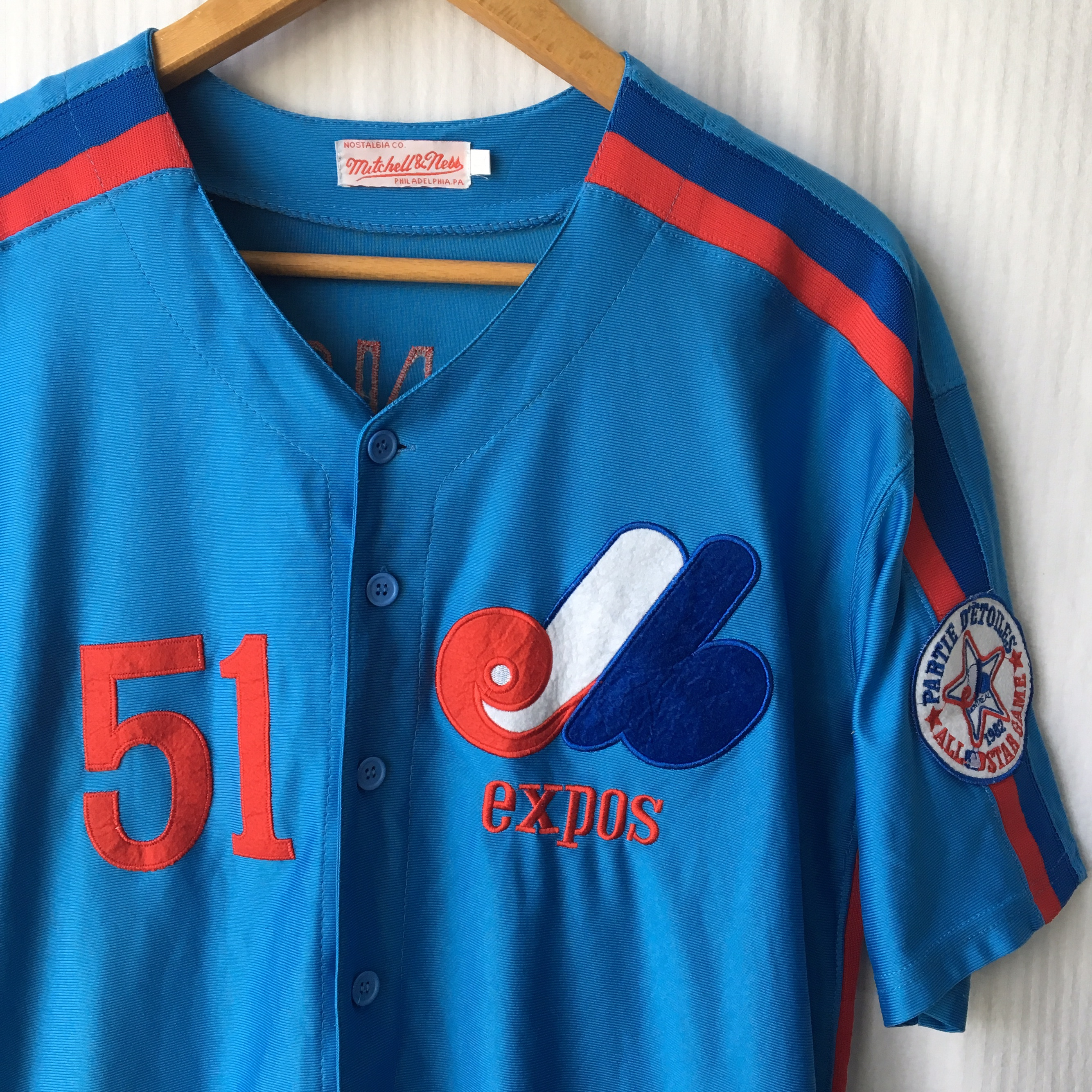 separation shoes 1bdd0 55584 Mitchell & Ness Randy Johnson Montreal Expos Jersey ...