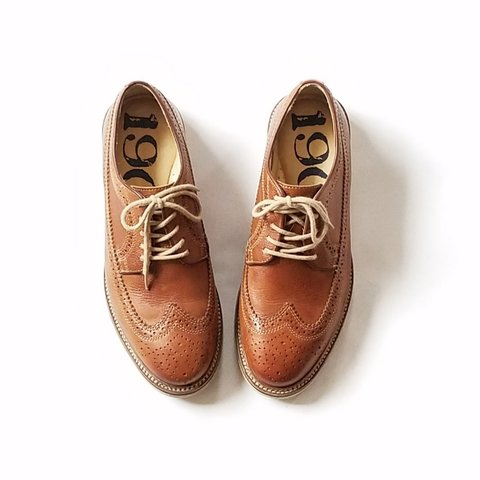 95528af33b1 Brand  Nordstrom 1901 (Wingtips Oxfords Brogues Dress Mens 4 - Depop