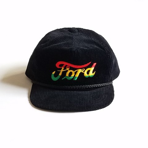 e51fed95102d1 Brand  AmaPro  Ford  (Vintage Corduroy 6 Panel Black with - Depop