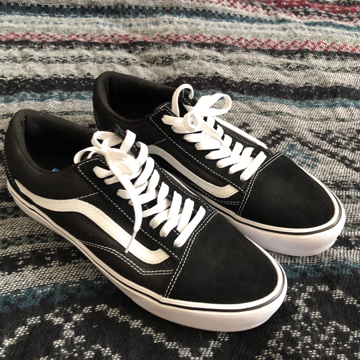Black Vans UltraCush Lite Women's
