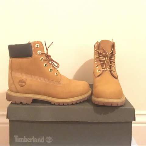 210880aa0a3f Women s Timberlands Colour  Wheat nubuck These boots are - Depop