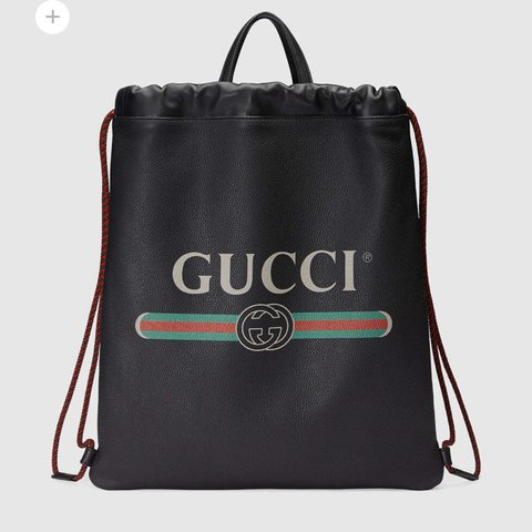 7661633fb15 Gucci drawstring real leather back pack worth £1790 in with - Depop