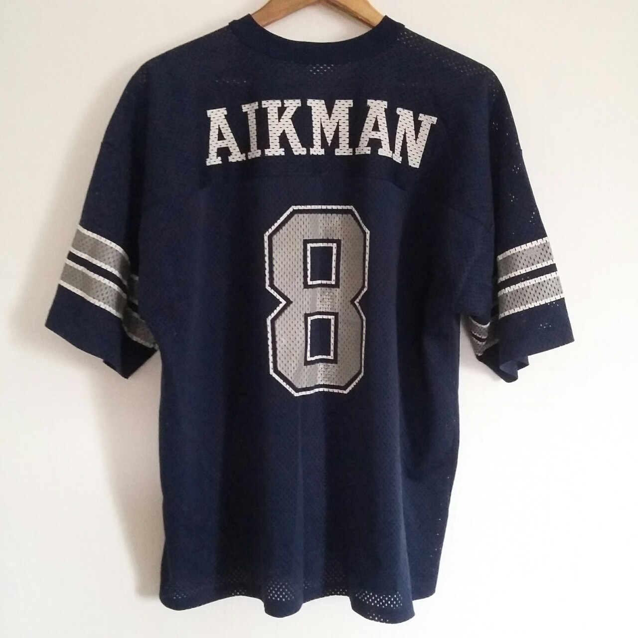 quality design 52b50 24a00 Vintage 90s Dallas Cowboys Troy Aikman Jersey by... - Depop