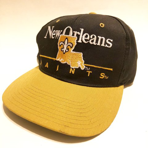 6a4605cf9a2 ... real vintage new orleans saints snapback. good condition. depop 9dc71  76a2d
