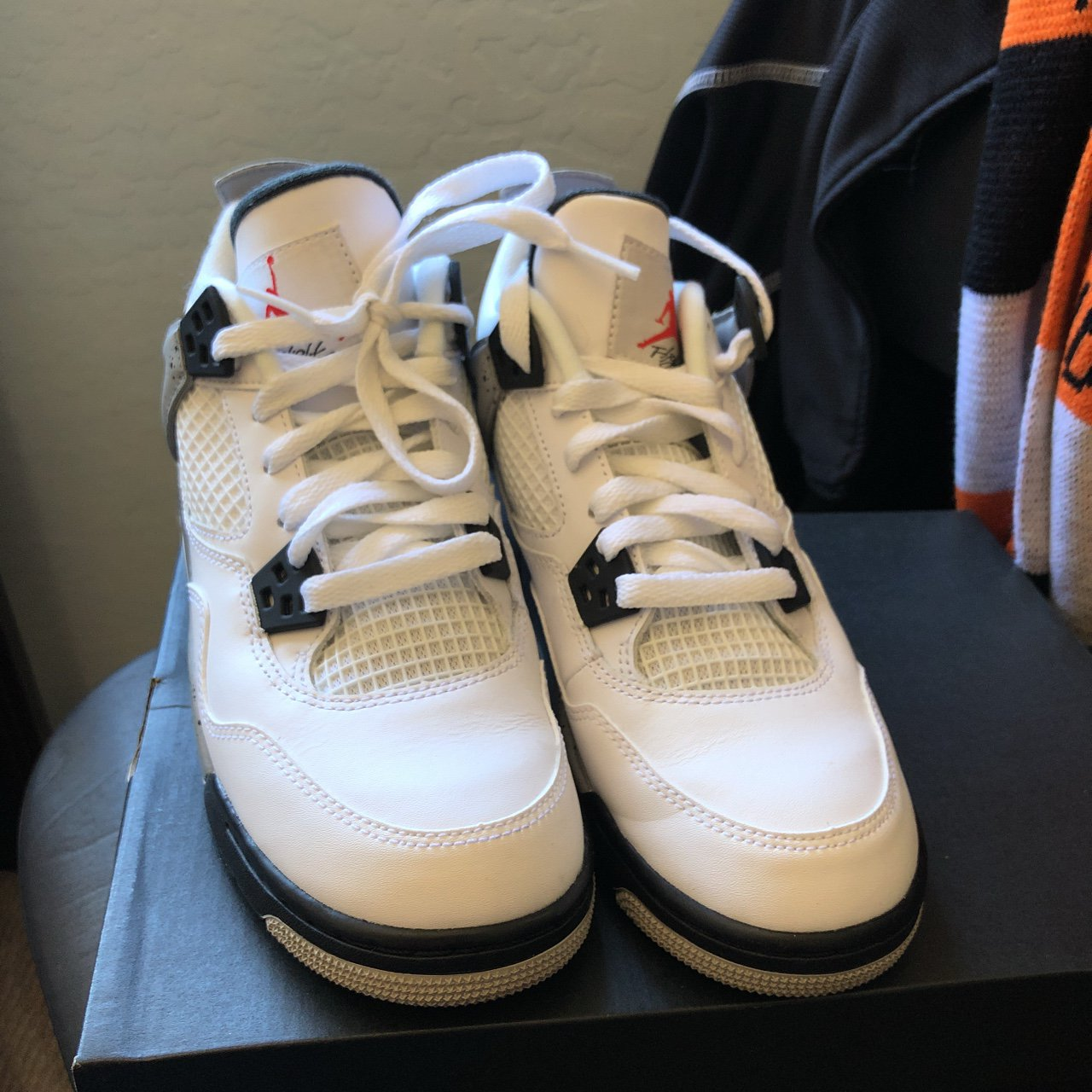 1ce16891213 Air Jordan white cement 4s. I forget what year i got them