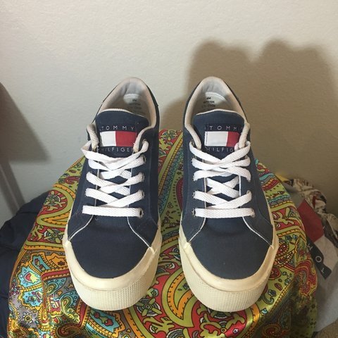 d0af10a5e61 Vintage Tommy Hilfiger Platform Shoes! Great condition for - Depop