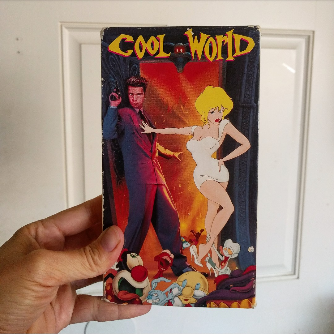 Cool World Vhs Movie Relive The 90s 1992 Film With Depop