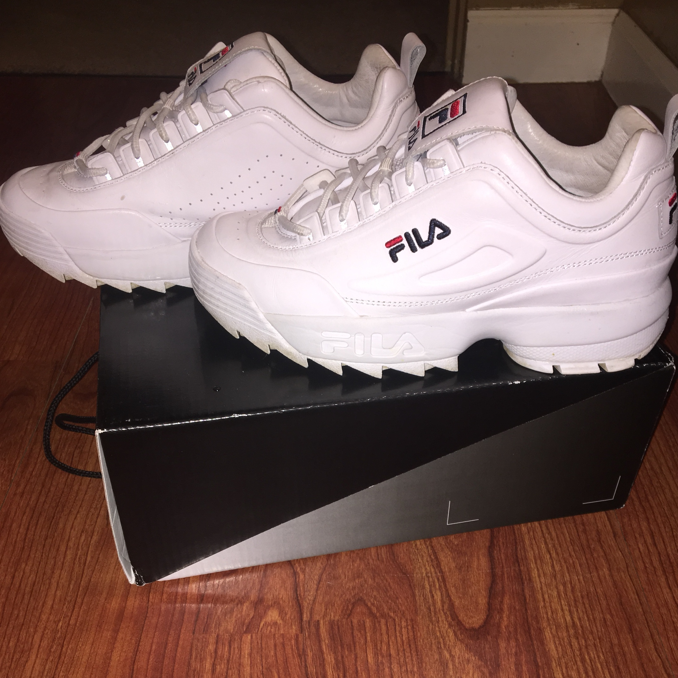 FILA x Barney's New York (SOLD OUT) Disruptor 2 Lux Depop