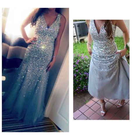 319a44c8bd8 Selling my gorgeous Prom dress! Worn for no more than 5 can - Depop