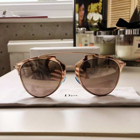 a3a670b97 @rebeccacronk. 3 years ago. Weybridge, Surrey, UK. Selling my authentic Christian  Dior Reflected rose gold ...