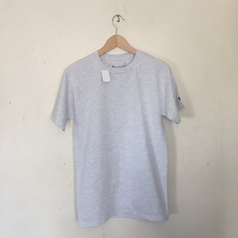 72959d63a7 Champion men s classic jersey ringer tee Iconic C patch on - Depop