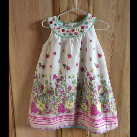 53f8b5dfd06 Monsoon baby girls dress with matching bloomers. Great Age m - Depop
