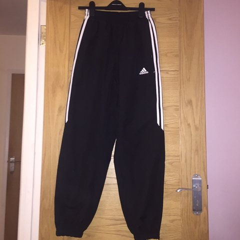 55bdd4725a8 @mimibby. 6 months ago. London, United Kingdom. Black, staple Adidas  tracksuit bottoms ...
