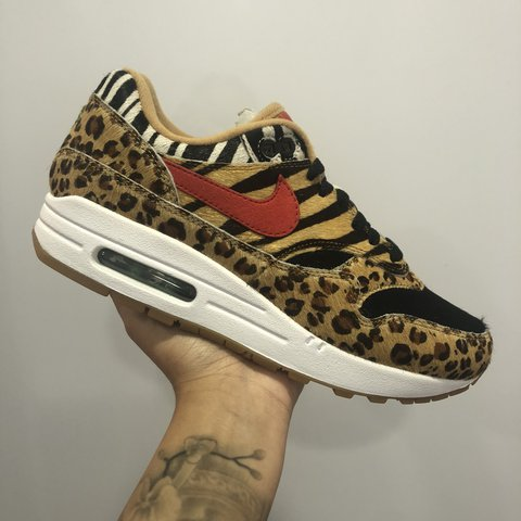 buy popular 7efca 9800a  lisawijnaldum. last year. Rotterdam, Nederland. NEW Atmos x Nike Air Max 1  Animal Pack ...
