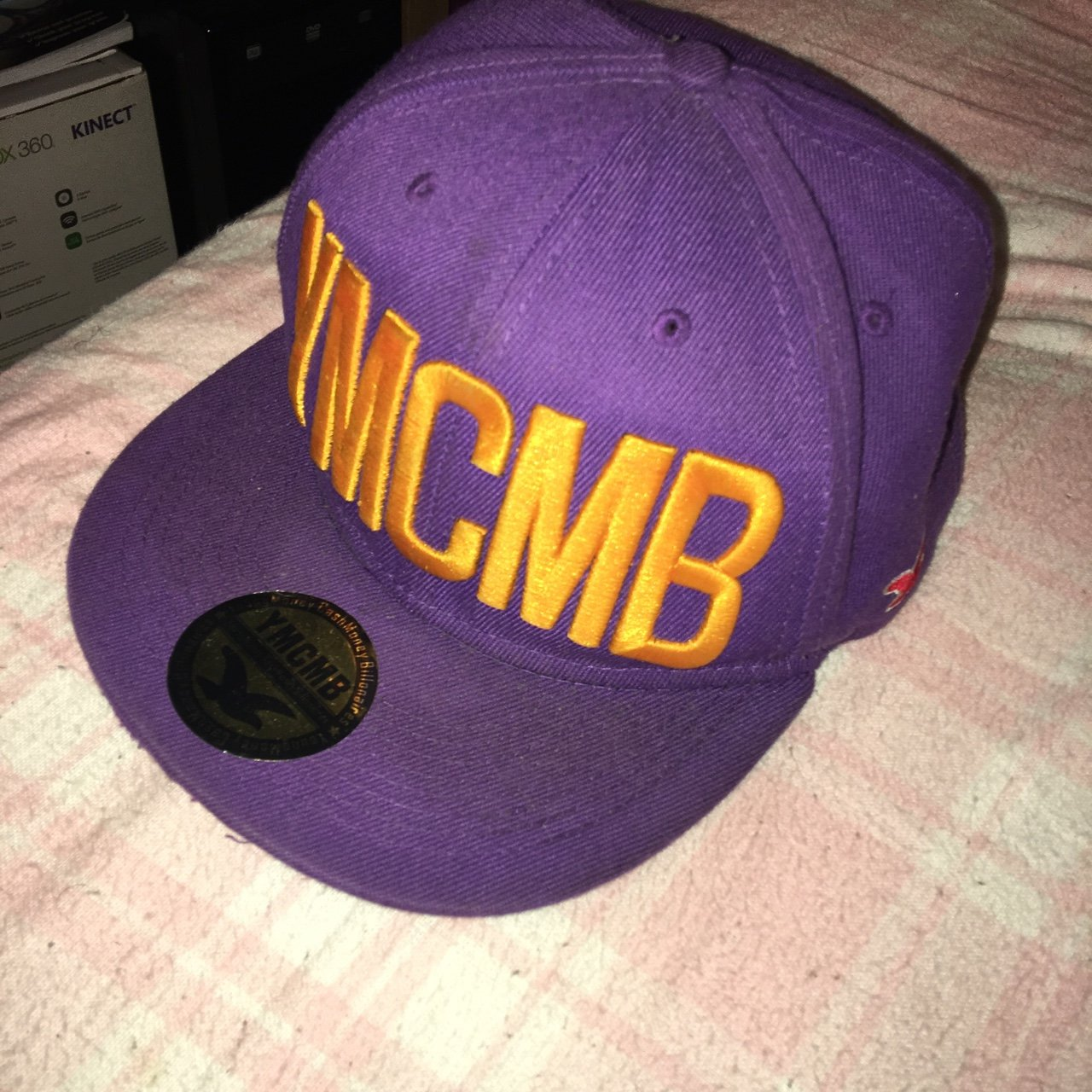YMCMB purple Hollister adjustable SnapBack. Worn about tags. - Depop 85c4ced3f3a