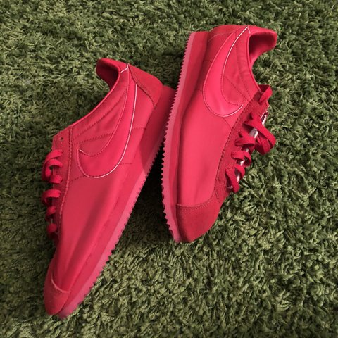 5d98943375a56 czech bloody red nike cortezs dopemans nike id never worn depop 50e63 416f6