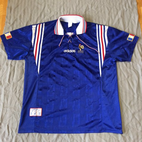 4f698cbac9e Possibly the best vintage France football top i ve ever come - Depop