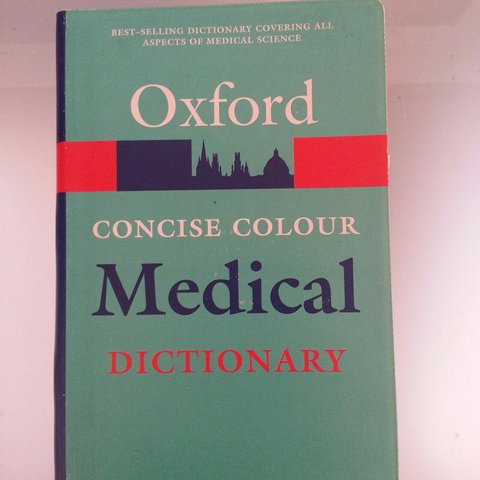 Oxford concise colour Medical Dictionary 4th edition    - Depop