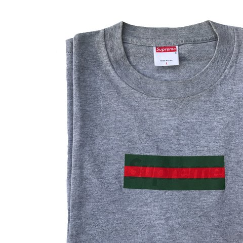 4c816198 @199xstore. 11 months ago. London, United Kingdom. Supreme Gucci box logo  tee ...