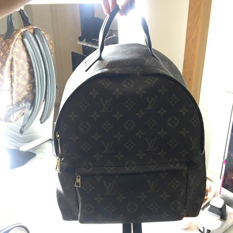 Louis Vuitton Palm Springs Backpack MM 🎒 SALE!!! PAYPAL of - Depop 3bceb26b2f06e