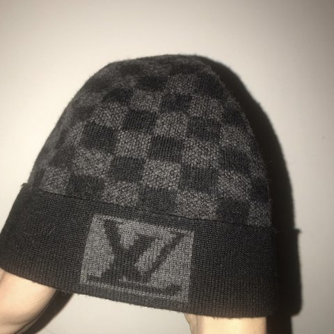 6bc4427a1f Pengest Louis Vuitton beanie . Seen on depop for over 130 me - Depop