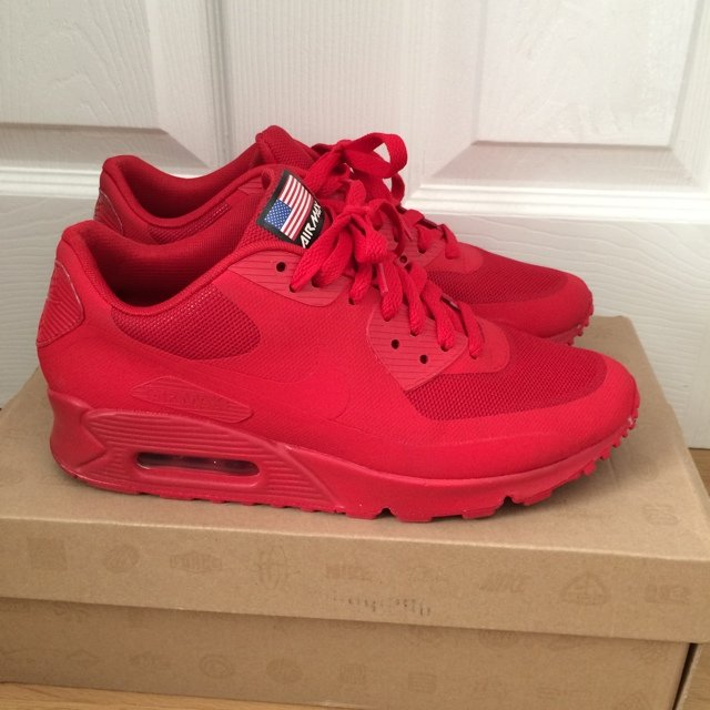 a9b1a932d3 @mchapman91. 5 years ago. Newport, United Kingdom. Nike Air Max 90  Independence Day Red ...