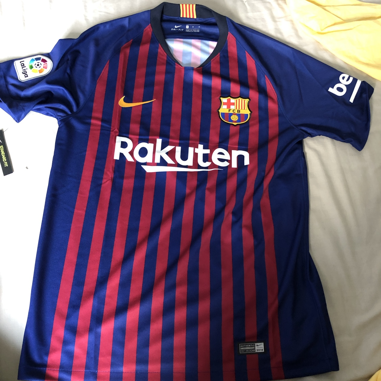 new concept ba017 76442 Authentic Barcelona home kit 2018/19. Never worn.... - Depop