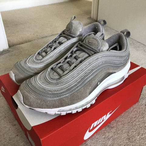12eead5ed3781f Nike Air Max 97 rare cobblestone grey size UK 9 Still in a - Depop