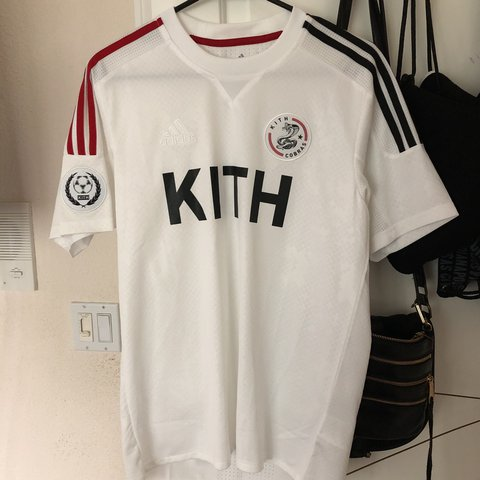 ON HOLD Kith x adidas Soccer Game Jersey - Cobras Home worn - Depop 0c6571a5e