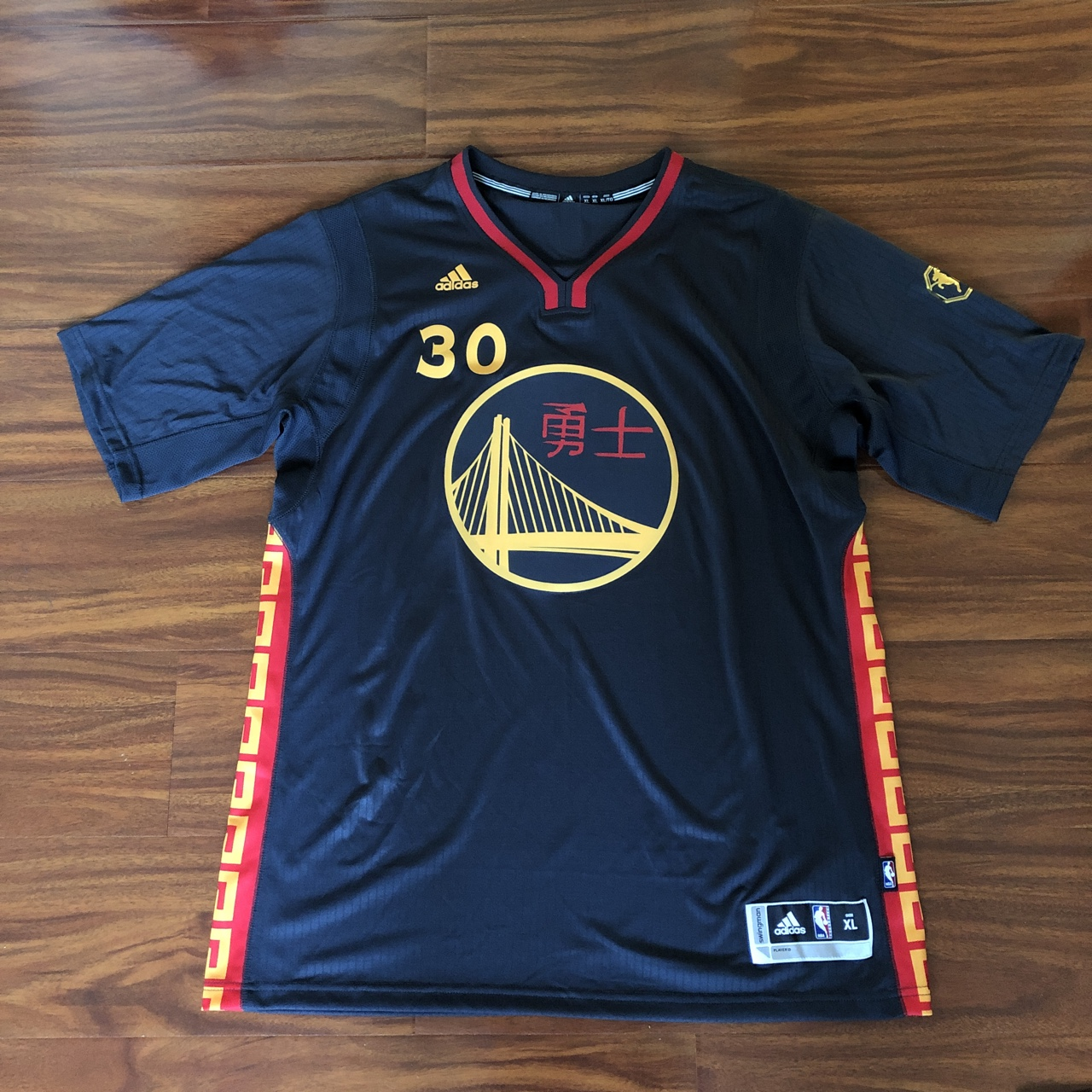best service 1b2f0 156fd Golden State Warriors Chinese New Year Stephen Curry ...