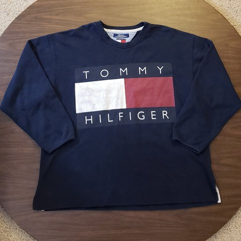 2dadf3c7 @atkrebill. yesterday. Alto, Kent County, United States. Vintage 90s Tommy  Hilfiger Big ...